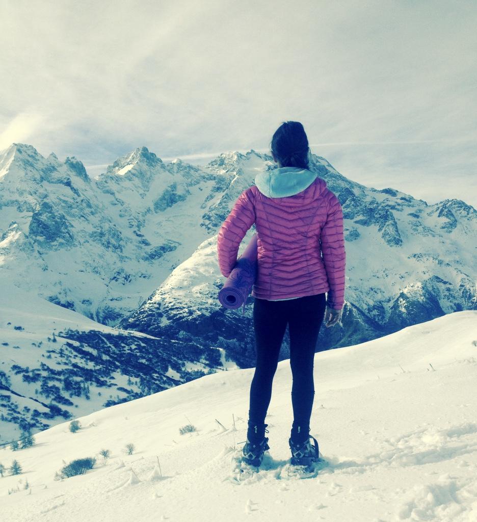 rando yoga Hautes Alpes