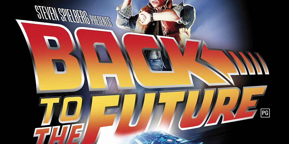 OUTDOOR CINEMA   - BACK TO THE FUTURE !!!