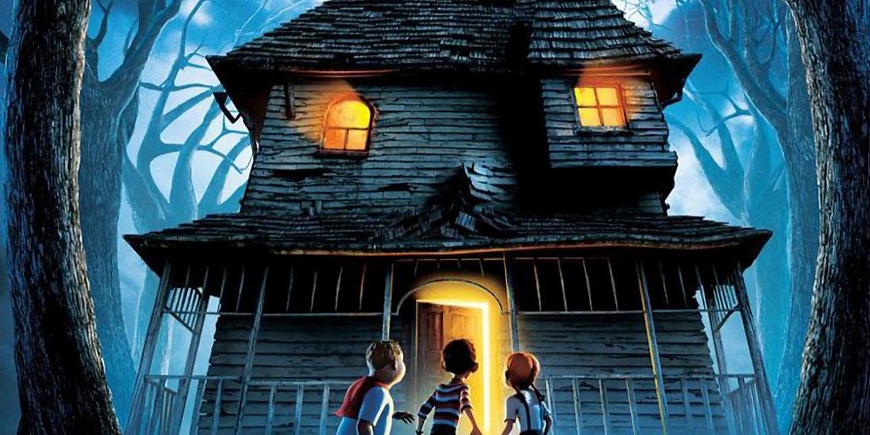 Halloween Cinema Scare Event - Monster House (PG) (2006)  Event Opens at 5pm, Film at 6pm
