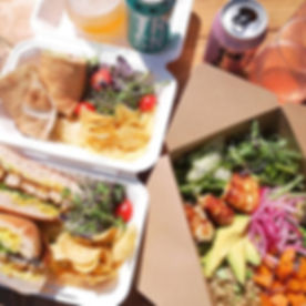 Friday picnic lunch delivered to your do
