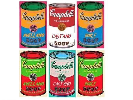 Avellano, Castaño y Roble, algo más que árboles de la mano de Andy Warhol