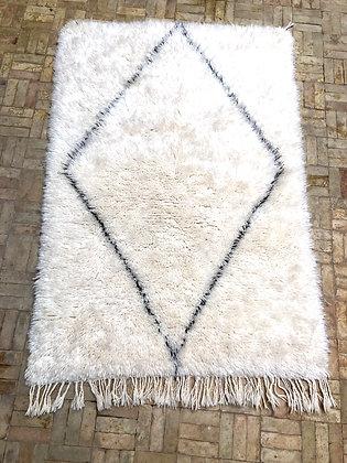 Beni Ouarain Marmoucha 1,52x1,05 losange noir