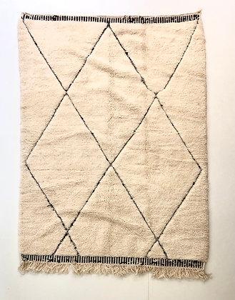 Tapis berbère Beni Ouarain 2,22x1,59m