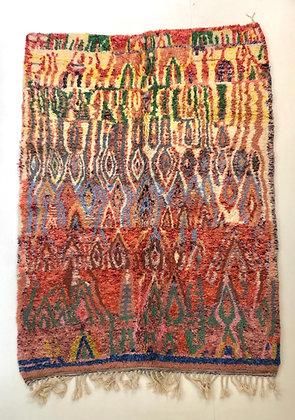 Tapis berbère Beni ouarain 2,48x1,68m