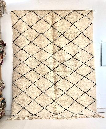 Tapis berbère Beni Ouarain 2,75x2,11m