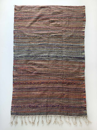 Kilim berbère au tissage coloré 2,44x1,40m