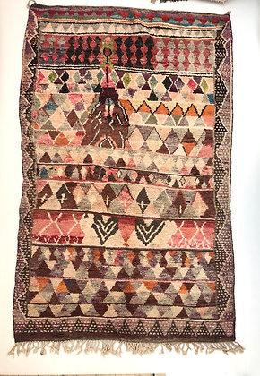Tapis berbère marocain Boujaad 2,60x1,57m
