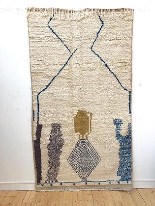 Tapis berbère Azilal 2,58x1,46m