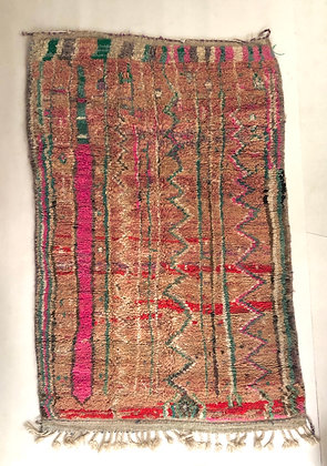 Tapis berbère marocain Boujaad 2,44x1,58m