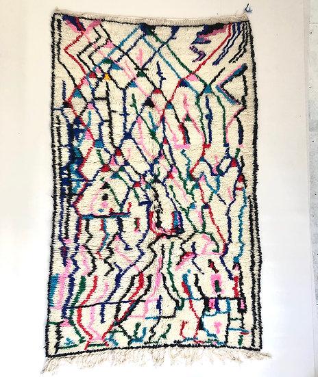 Tapis berbère Azilal 2,33x1,44m