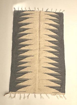 Kilim berbère écru et gris clair 1,50x0,97m