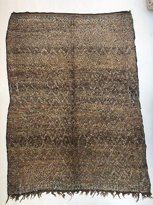 Tapis berbère Tazenakht ancien 2,6x1,92m