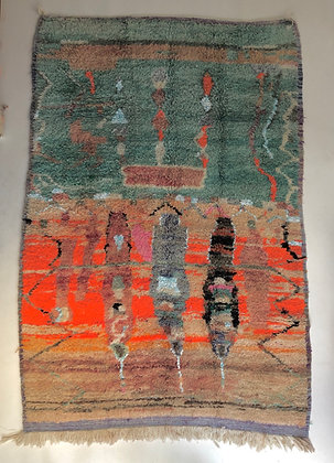 Tapis berbère marocain Boujaad 2,43x1,63m