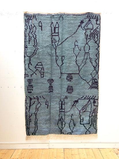 Tapis berbère Azilal 2,36x1,46m
