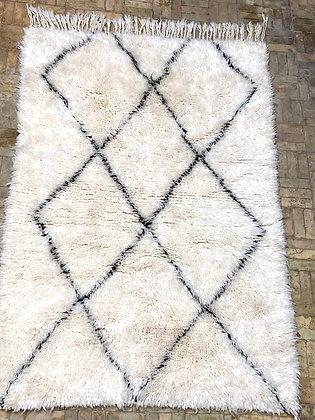 Beni Ouarain Marmoucha 1,63x1,11m losanges noirs