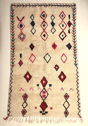 Tapis berbère marocain Azilal 2,55x1,50m