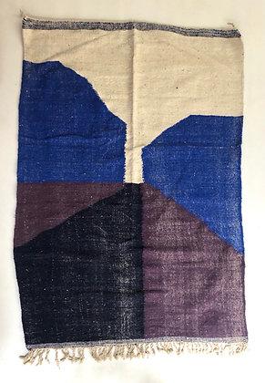 Kilim berbère contemporain 2,04x1,46m