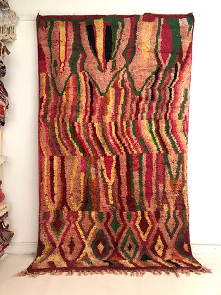 Tapis berbère marocain Boujaad 2,87x1,69m