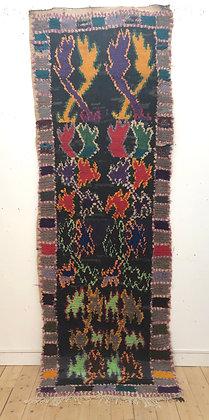Tapis berbère vintage Azilal 2,96x1m