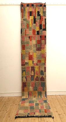 Tapis berbère Boujaad couloir 3,56x0,73m