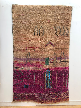 Tapis berbère Boujaad 2,51x1,48m