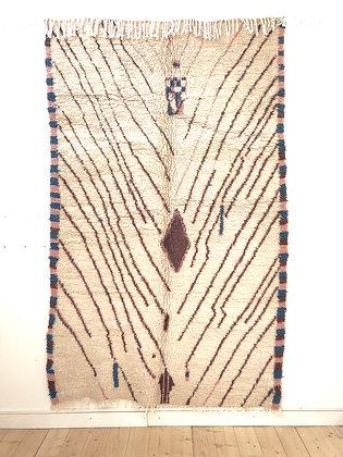 Tapis berbère Azilal 2,5x1,54m