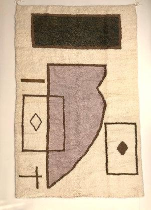 Tapis berbère marocain Azilal 2,51x1,63m