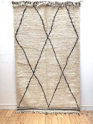 Tapis berbère Beni Ouarain 2,65x1,6m