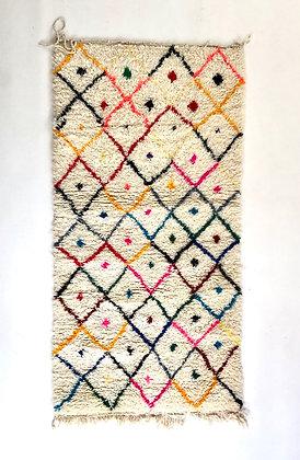 Tapis berbère Azilal 1,81x0,93m