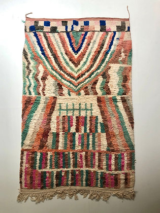 Tapis berbère Boujaad 2,42x1,54m