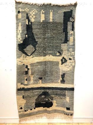 Tapis berbère Azilal 2,43x1,31m