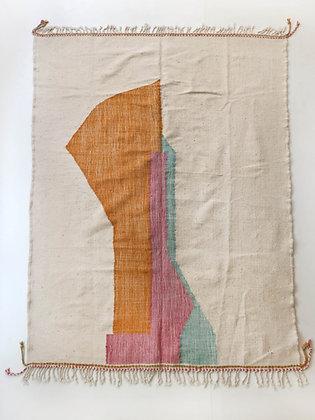 Kilim berbère contemporain 2,74x1,98m