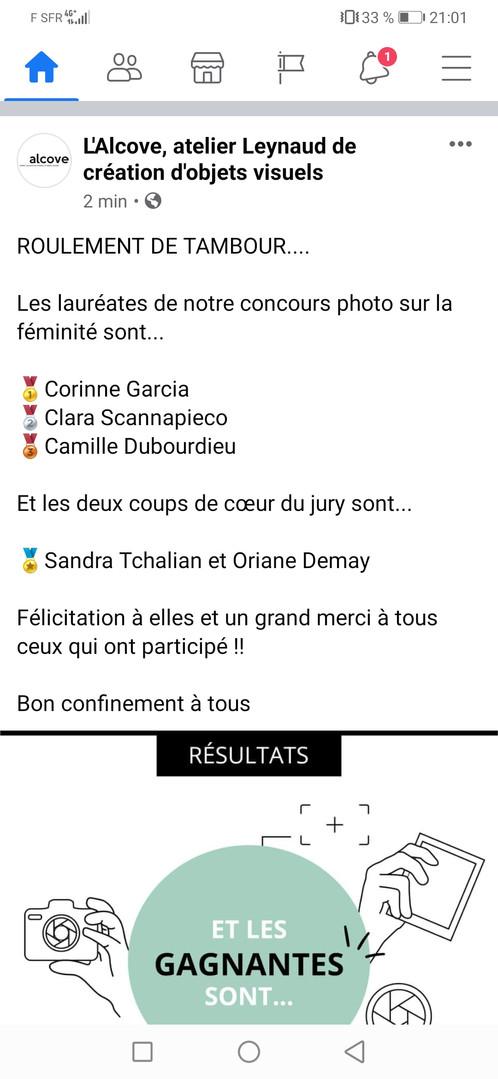 Concours L'Alcove Lyon