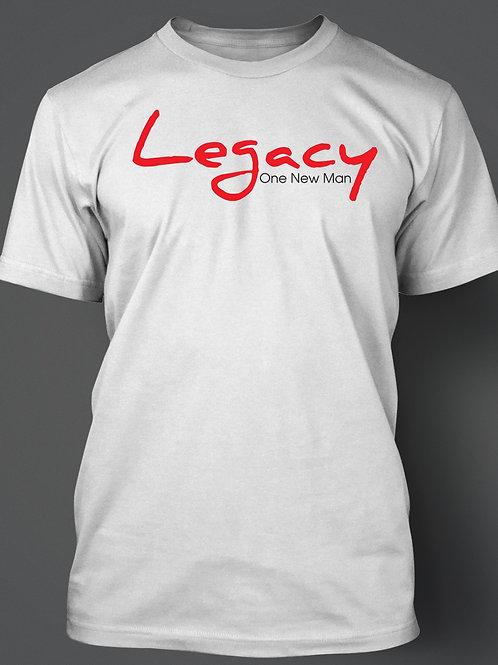 Legacy - White Tee - Full Front