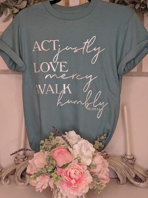 Act Love & Walk