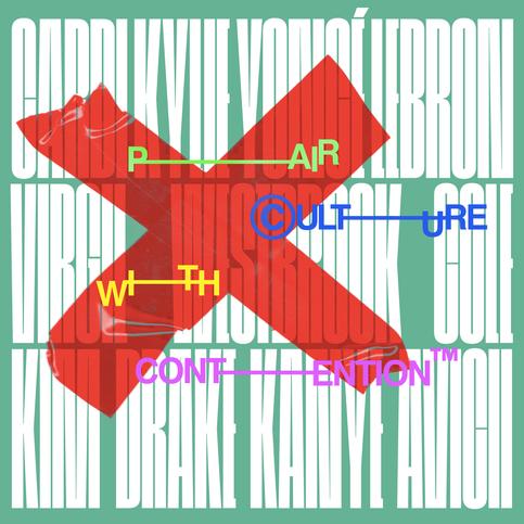 inspired by: Virgil Abloh & VMagazine.  fonts: Cinderblok 200 & Helvetica Bold.