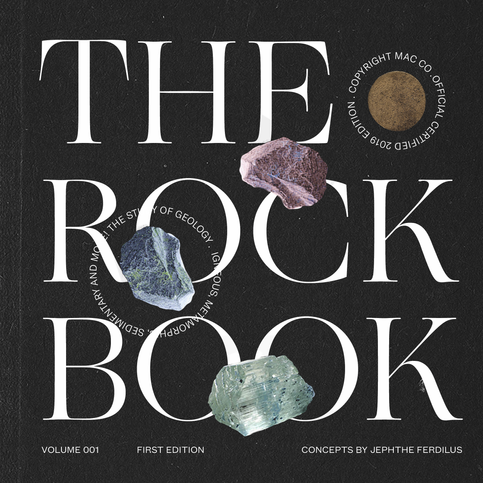 inspired by: geology textbooks.  fonts used: Ogg Roman, GT America & Founders Grotesk