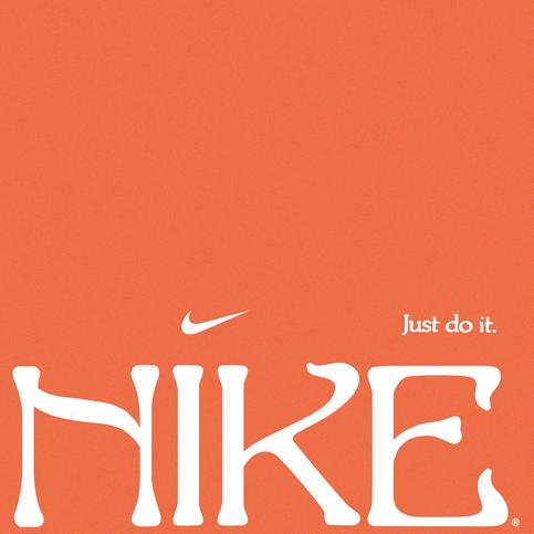inspired by: Nike.   fonts: Edda.