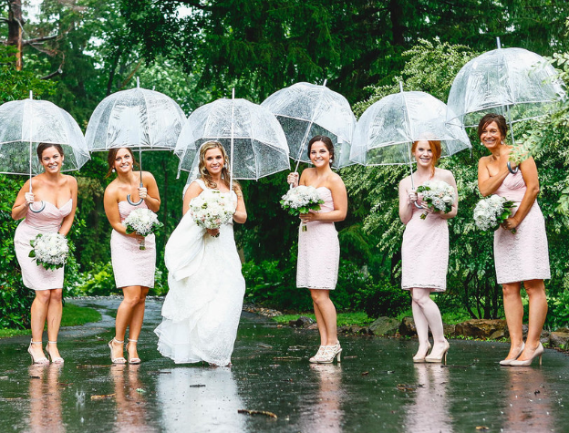 Clear Bubble Umbrellas