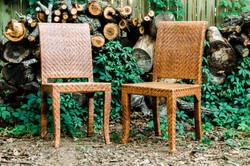 Woven Bohemian Chairs