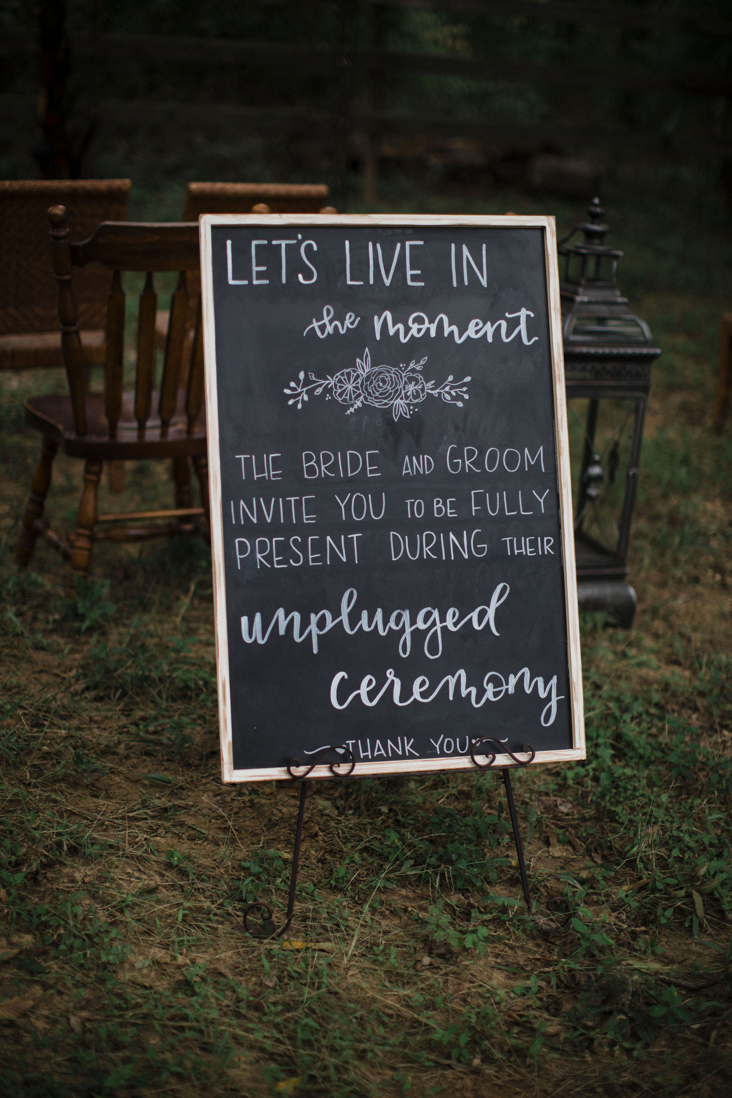 Wedding Chalk Boards