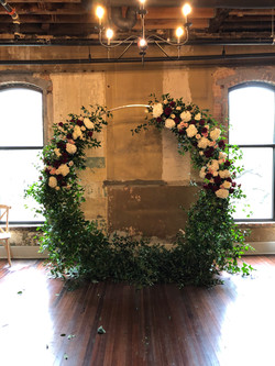 Moon Arch with Floral