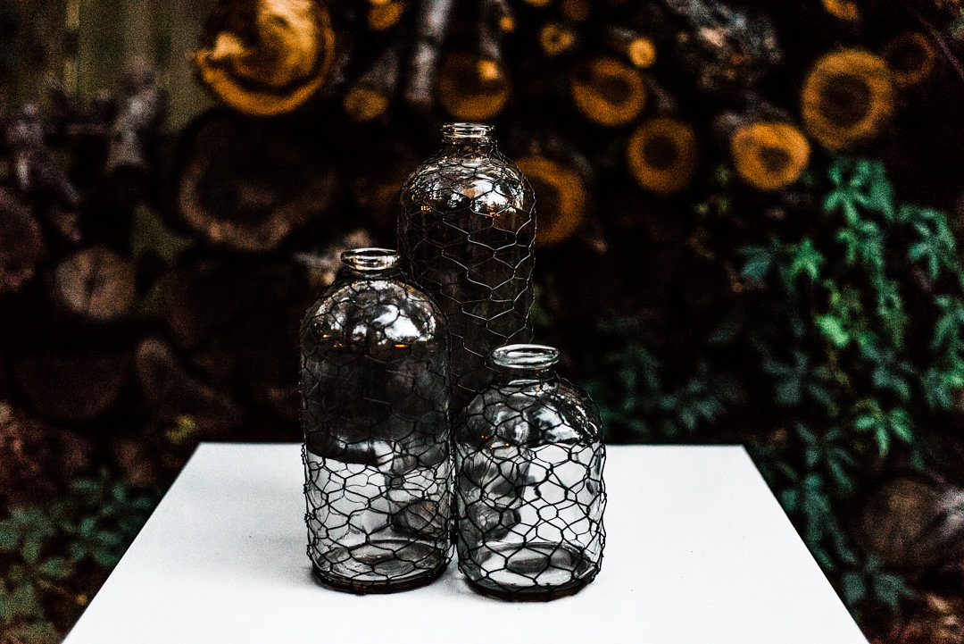 Wire Wrapped Jars