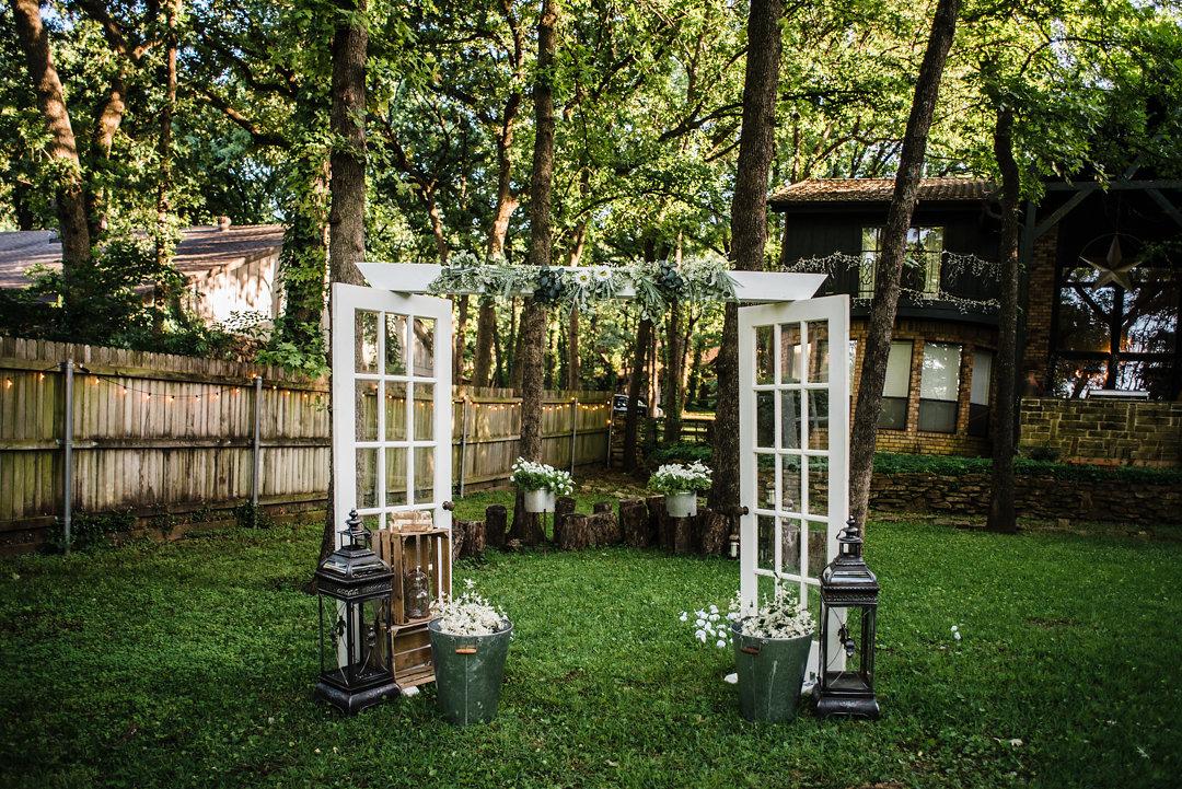 French Double Door Altar