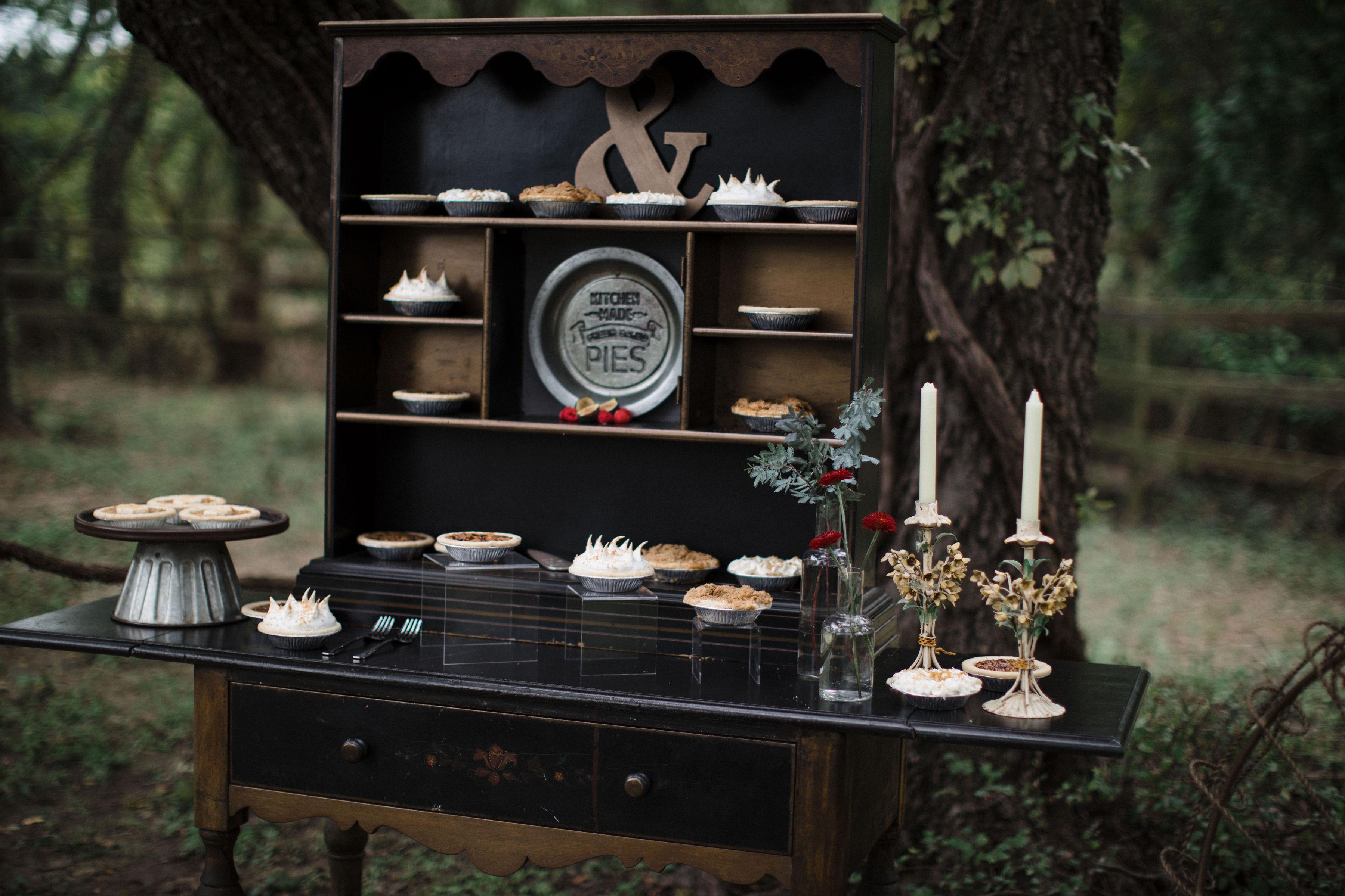 Black Antique Table
