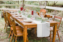 Farmhouse Tables & Wooden Chairs