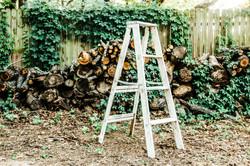Shabby Chic Ladder