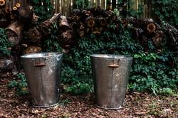 Galvanized Tin Buckets