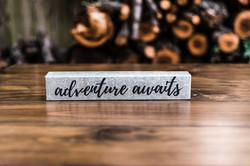 Tin 'adventure awaits'