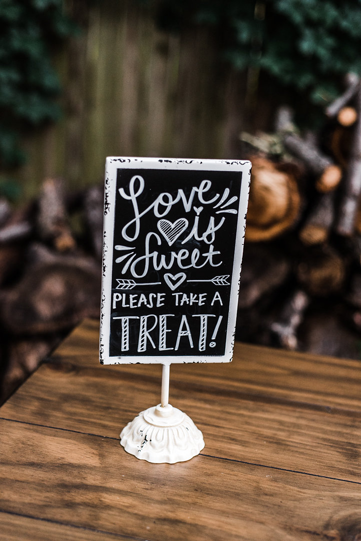 Sweet Treat Chalk Board